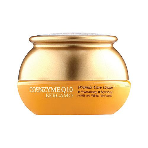 Coenzyme Q10 Wrinkle care Cream, Bergamo, омолаживающий крем с коэнзимом Q10
