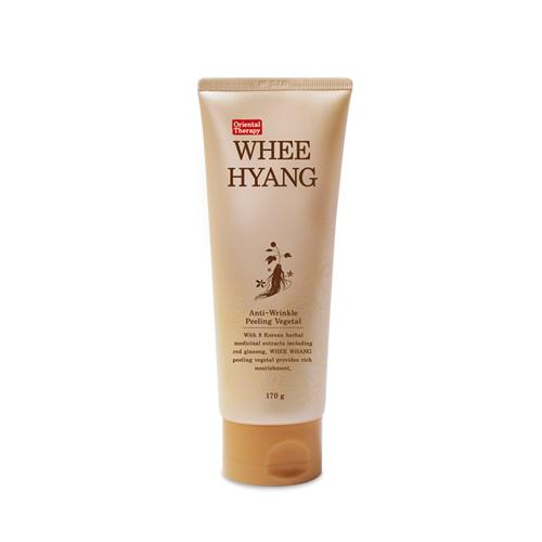 Whee Hyang Anti-Wrinkle Peeling Vegeta, Deoprice, пилинг для глубокого очищения с экстрактом красного женьшеня