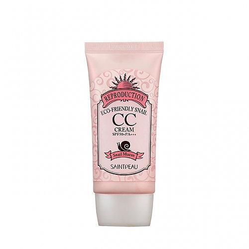 корейский сс крем, купить. Eco-Friendly Snail CC Cream, Saint Peau, увлажняющий СС крем