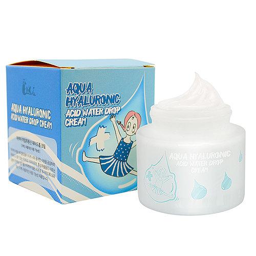 Aqua Hyaluronic Acid Water drop cream, Elizavecca, увлажняющий гиалуроновый крем