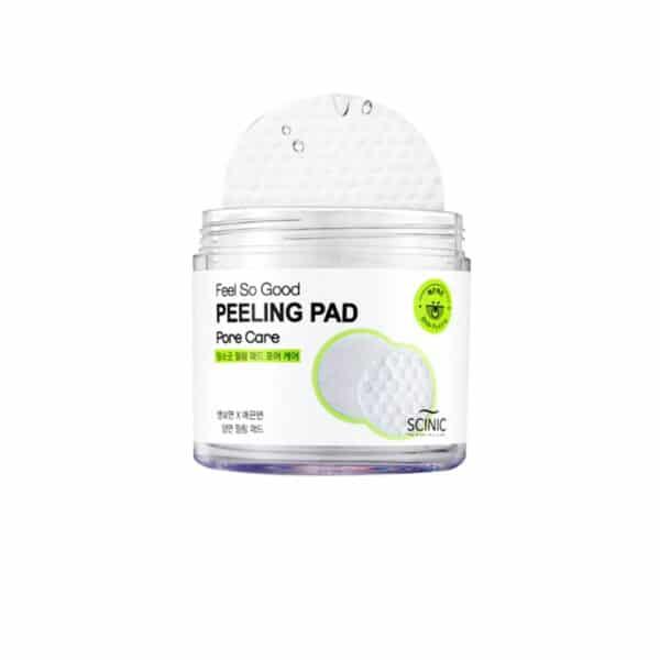 Корейский пилинг. Очищающие пилинг-спонжи Feel So Good Peeling Pad, Pore Care