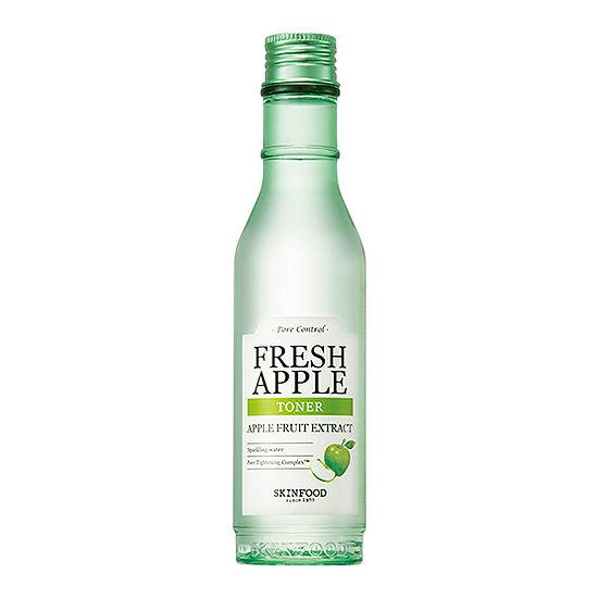 Fresh Apple Toner, Skinfood, яблочный тонер. Корейская косметика, купить в магазине Hedeo. Доставка по России.