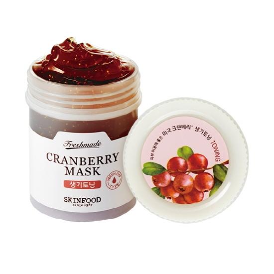 Freshmade Cranberry Mask, Skinfood, маска с экстрактом клюквы