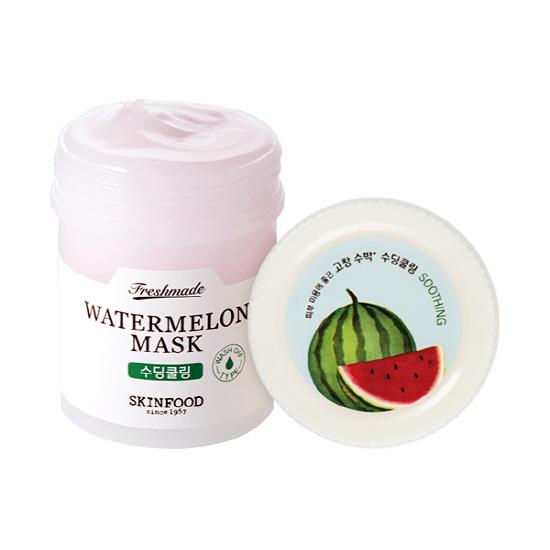 Freshmade Watermelon mask, Skinfood, успокаивающая маска с экстрактом арбуза