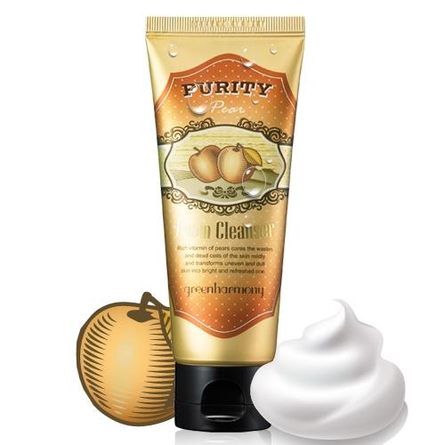 Pear Foam Cleanser, Ladykin, Пенка для умывания с экстрактом груши
