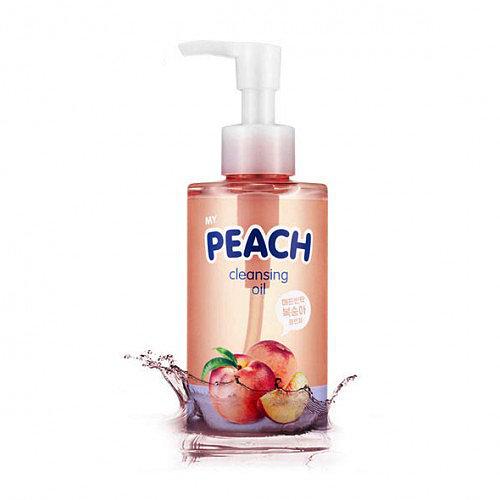 Персиковое гидрофильное масло Scinic My Peach Cleansing Oil. Купить корейскую косметику в интернет-магазине Hedeo