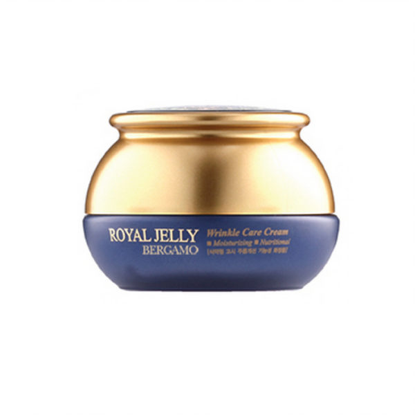 Royal Jelly Wrinkle Care Cream, Bergamo, омолаживающий крем с маточным молочком