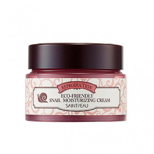 Eco-friendly Snail Moisturizing Cream, Saint Peau, увлажняющий крем с экстрактом муцина улитки
