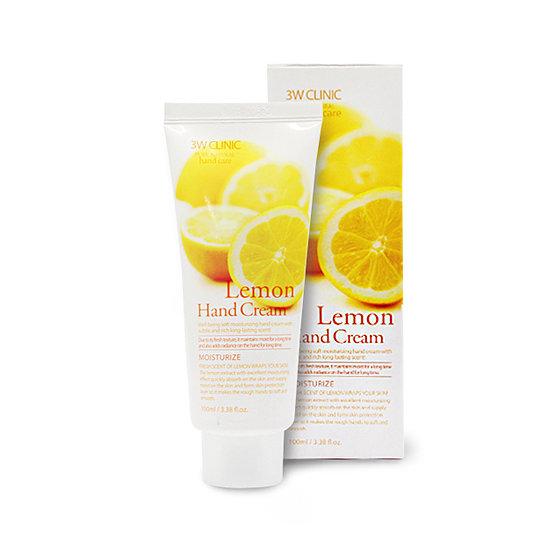 Lemon Hand Cream, 3W Clinic, крем для рук с лимоном