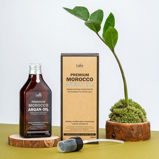 Premium Argan Hair Oil, La'dor , премиум аргановое масло для волос - hedeo