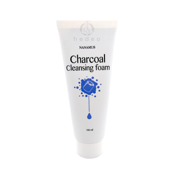 Charcoal Foam Cleansing, Nanamus, пенка для умывания с углем