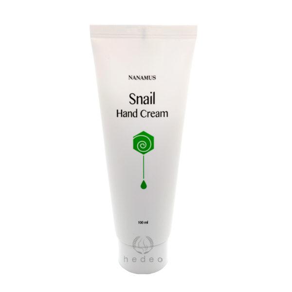 Snail Hand Cream Nanamus, крем для рук с улиточным муцином