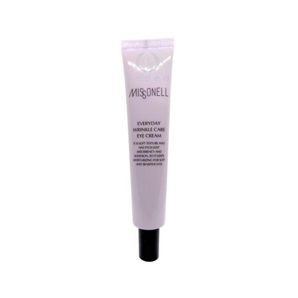 Everyday Wrinkle Care Eye Cream, Missonell, омолаживающий крем от морщин под глазами с пептидным комплексом и аденозином