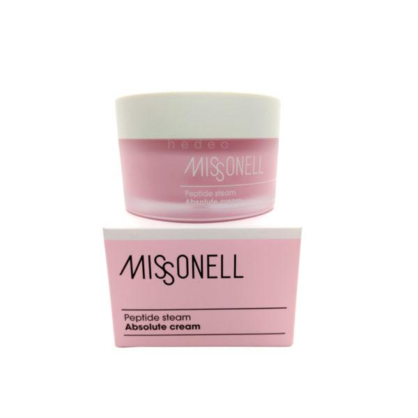 Peptide Steam Absolute Cream, Missonell, пептидный паровой абсолютный крем - купить в магазине Hedeo