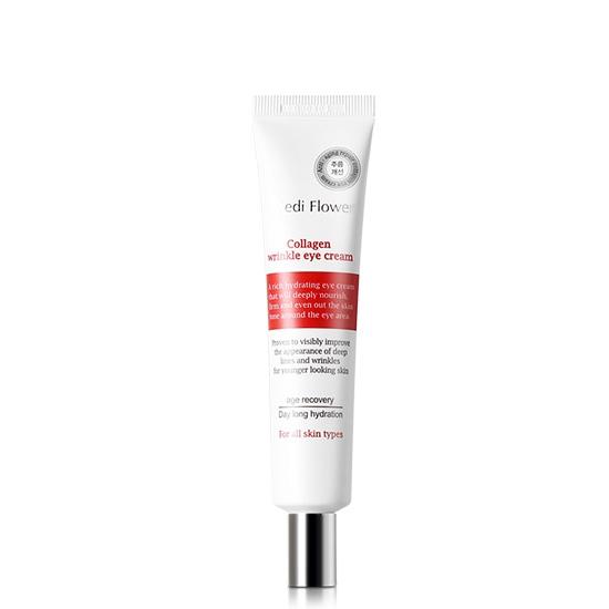 Collagen Refining Wrinkle Eye Cream, Mediflower, витализирующий крем для кожи вокруг глаз с коллагеном