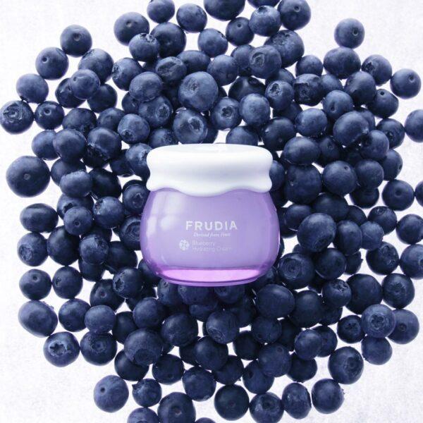 Blueberry Hydrating Cream, Frudia, увлажняющий крем с черникой