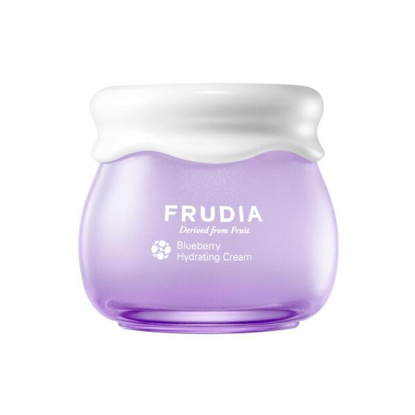 Blueberry Hydrating Cream, Frudia, увлажняющий крем с черникой. Купить с доставкой. Корейская косметика в интернет-магазине Hedeo