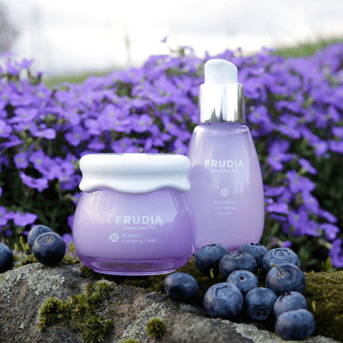 Blueberry Hydrating Serum, Frudia, увлажняющая сыворотка с черникой - купить в магазине Hedeo