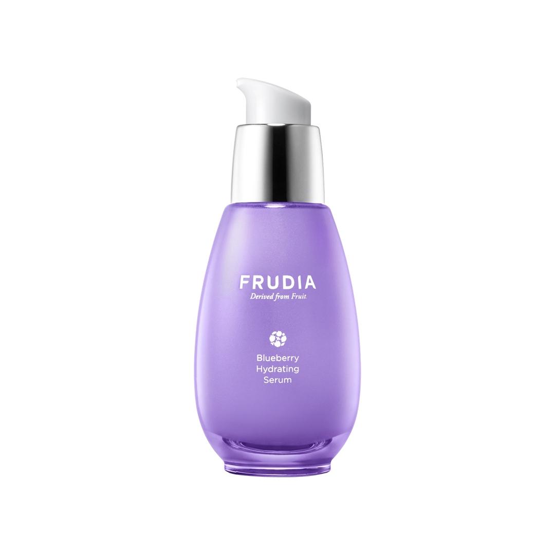 Blueberry Hydrating Serum, Frudia, увлажняющая сыворотка с черникой - купить в магазине Hedeo. Корейская косметика. Доставка по всей России