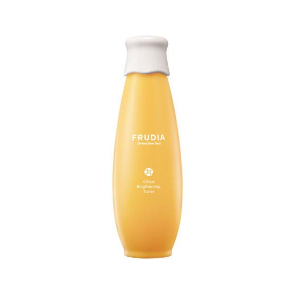 Citrus Brightening Toner, Frudia, тоник с цитрусом, придающий сияние коже. Корейская косметика, купить в магазине Hedeo. Доставка по России.