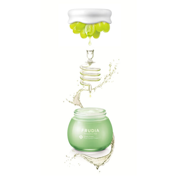 Green Grape Pore Control Cream, Frudia, крем с зеленым виноградом «контроль пор»