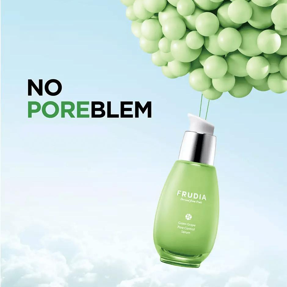 Green Grape Pore Control Serum, Frudia, сыворотка «контроль пор» с зеленым виноградом, себорегулирующая - купить в магазине Hedeo