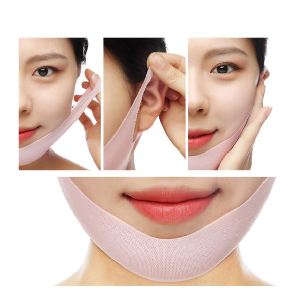 Flower Lift-up V Mask Rose, лифтинг-маска для V зоны. Купить корейскую косметику в интернет-магазине Hedeo.