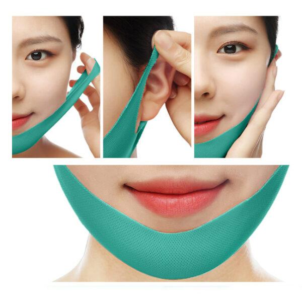 Pearl Lift-up V Mask, маска для V-зоны. Купить корейские маски онлайн. КОрейская косметика - Hedeo.