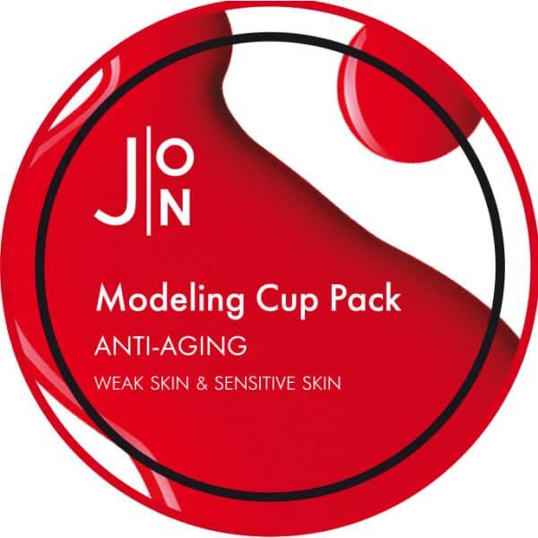 Антивозрастная альгинатная маска, J:ON ANTI-AGING MODELING PACK