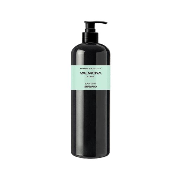 Ayurvedic Scalp Solution Black Cumin Shampoo, EVAS Cosmetic, линия VALMONA, шампунь АЮРВЕДА купить в интернет-магазине с доставкой по России