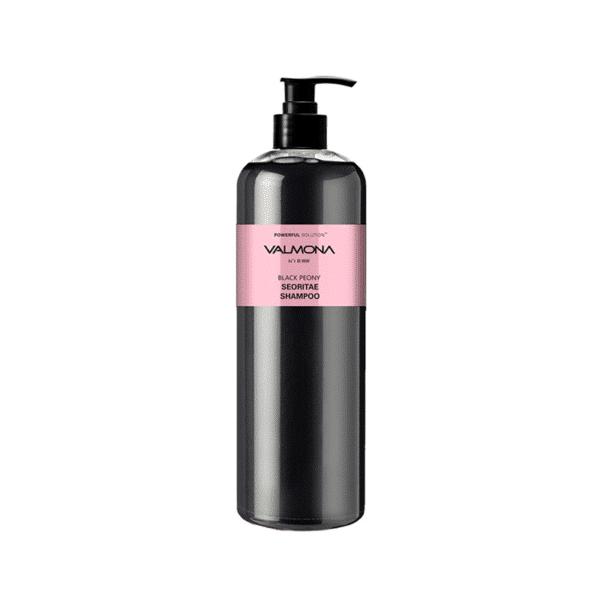 Powerful Solution Black Peony Seoritae Shampoo, EVAS Cosmetic, линия VALMONA, шампунь для волос ЧЕРНЫЙ ПИОН-БОБЫ