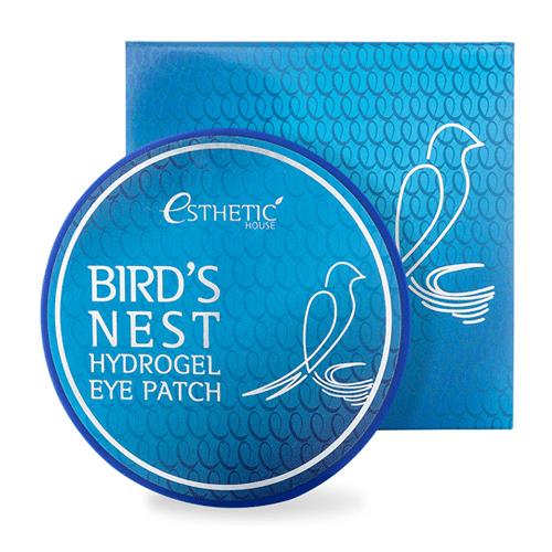 Bird's Nest Hydrogel Eye Patch, патчи с ласточкиным гнездом купить в интернет магазине бесплатная доставка