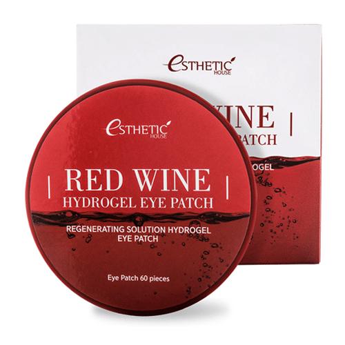 Red Wine Hydrogel Eye Patch, патчи для глаз с вином патчи с экстрактом красного вина купить в интернет магазине Hedeo