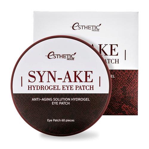 SYN-AKE Hydrogel Eye Patch патчи для глаз со змеиным пептидом купить в интернет магазине бесплатная доставка