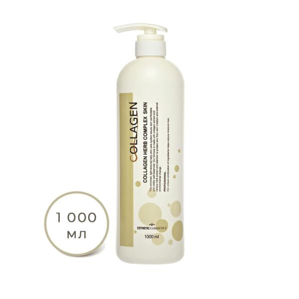 Collagen Herb Complex Skin, Esthetic House, тоник для лица Коллаген и растительные экстракты купить в интернет-магазине hedeo бесплатная доставка по россии