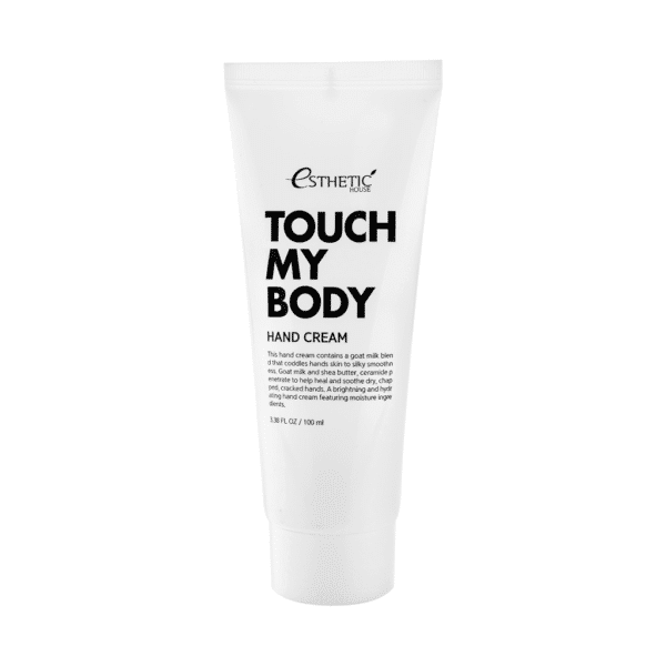 Touch My Body Goat Milk Hand Cream, Esthetic House, крем для рук с козьим молоком купить в интернет-магазине hedeo доставка по России бесплатно