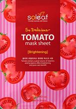 So Delicious Tomato Mask Sheet , SOLEAF, маска для лица с томатом